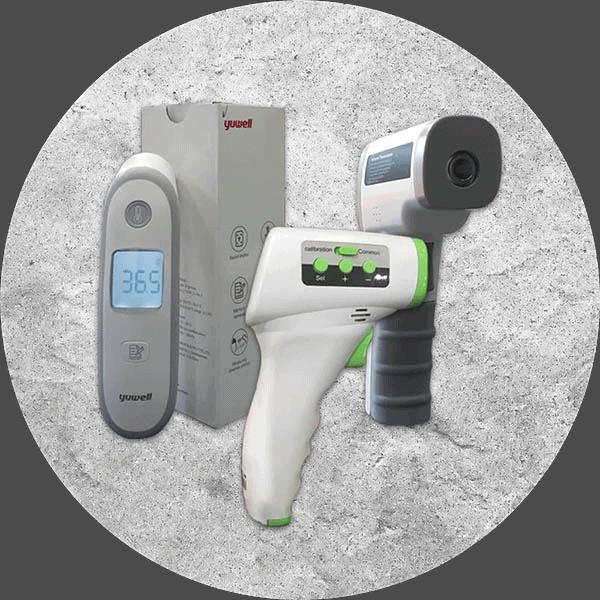 termometros infrarrojos